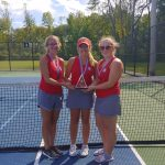 Warrior Tennis finishes 3rd place at Ashtabula County Tournament