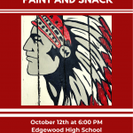 Girls Soccer Snack and Paint