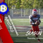 MS Football Season Finale Thursday, Oct 17th