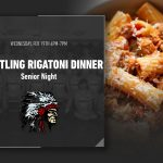 Wrestling Senior Night-Rigatoni Dinner RESCHEDULED