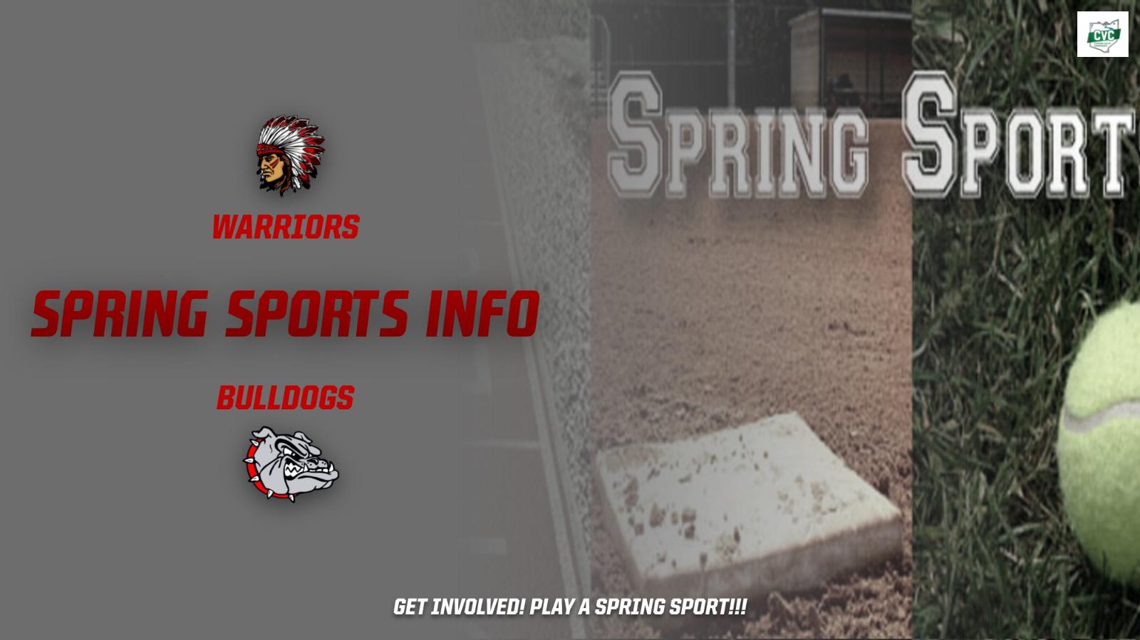 Edgewood & Braden Spring Sports Information