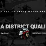 Warrior Wrestlers Qualify for Districts!