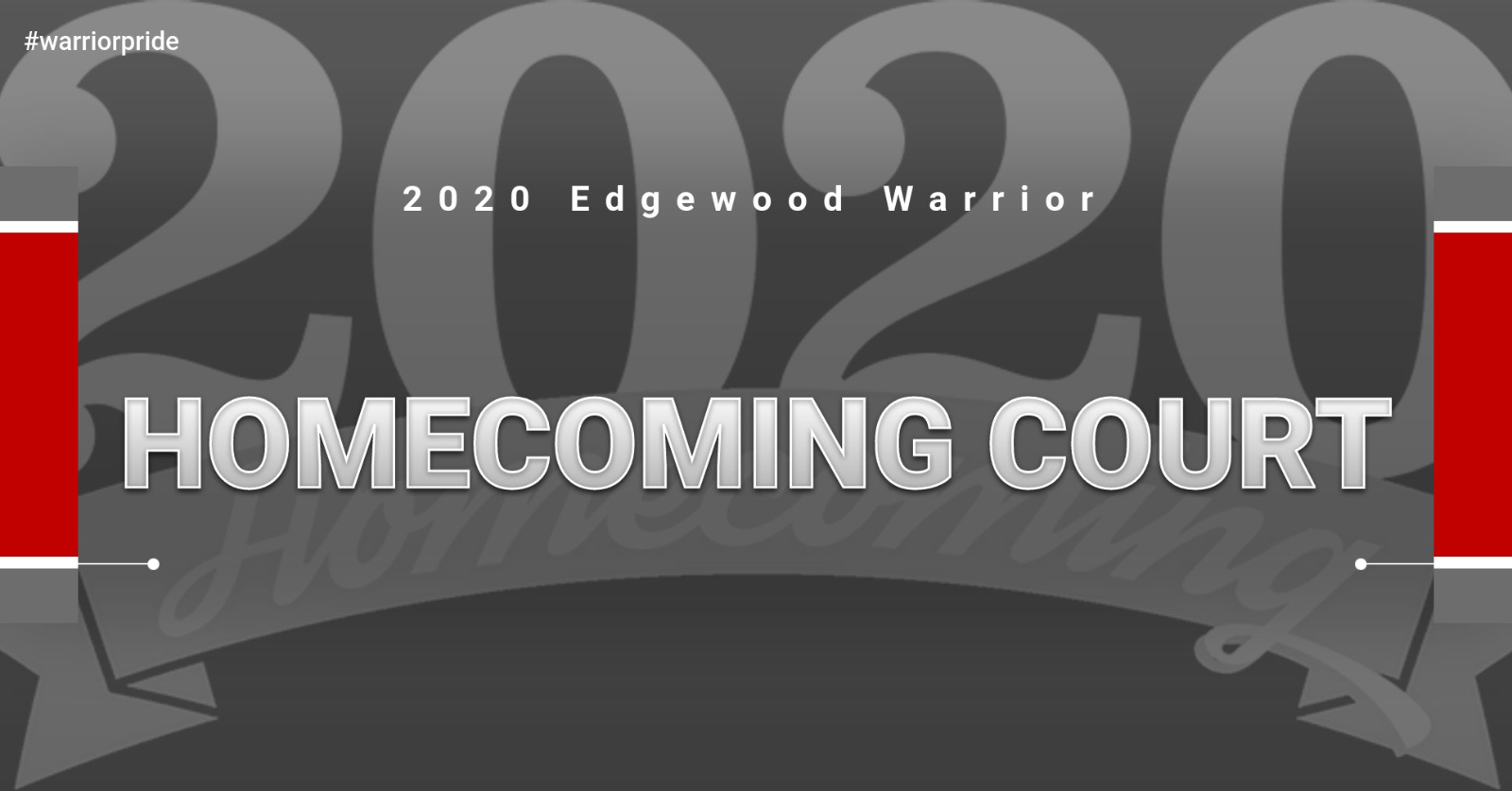 Congratulations to the 2020 Warrior Homecoming Court