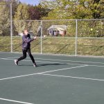 Warrior Tennis battles at the Ashtabula County Tennis Tournament