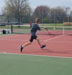 Boys Varsity Tennis falls to Warren G Harding 3 – 1