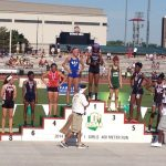 Aaliyah Patten finishes 6th at State Track Meet!