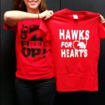 Hawks for Hearts Red Out Game