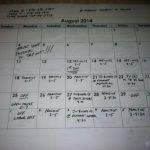 Aug Tennis Schedule