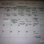 Oct Tennis Schedule