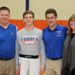 Michael Higley sets EHS all-time wrestling wins record