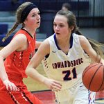 Lady Eddies season ends in regional semi-final