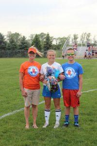 2017 Girls Soccer Senior Night