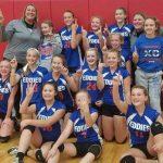 7th grade volleyball wins Vicksburg Invitational