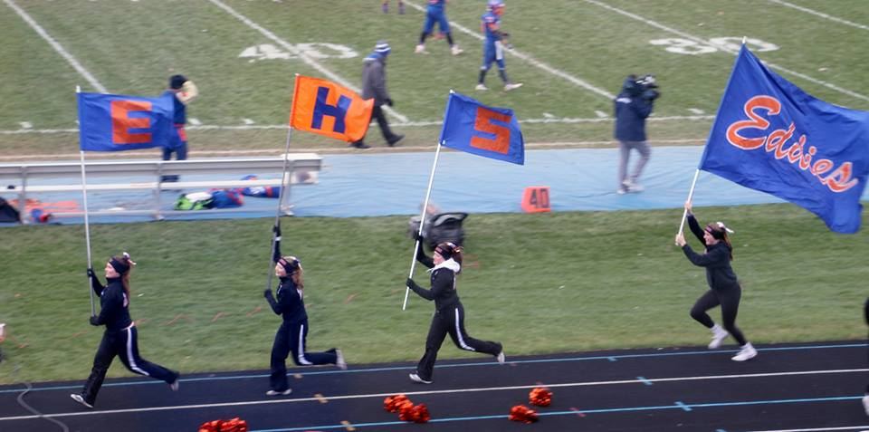 Eddies advance to second straight football semi-final with win over Lansing Sexton