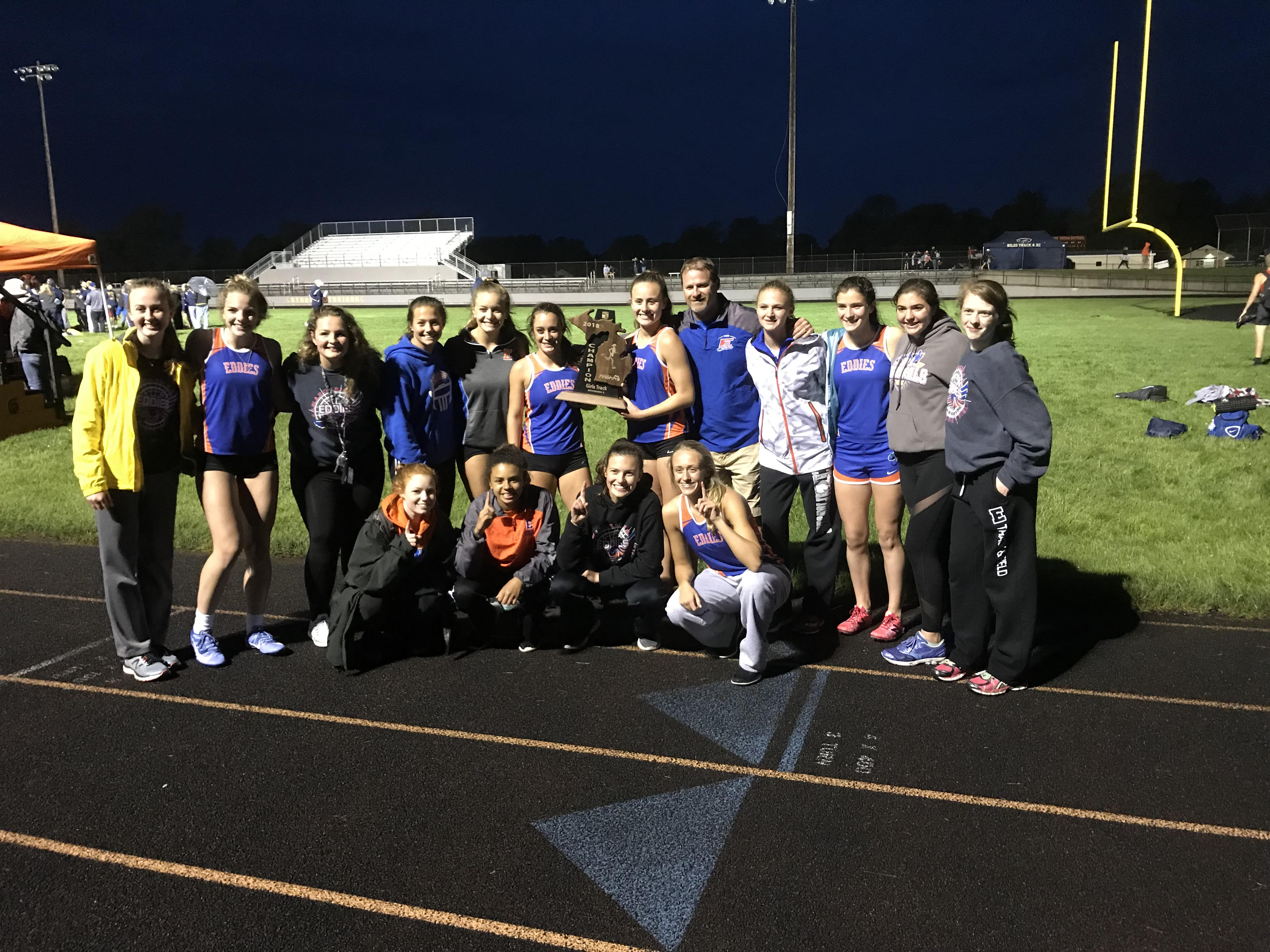 Girls track wins first regional title in 17 years