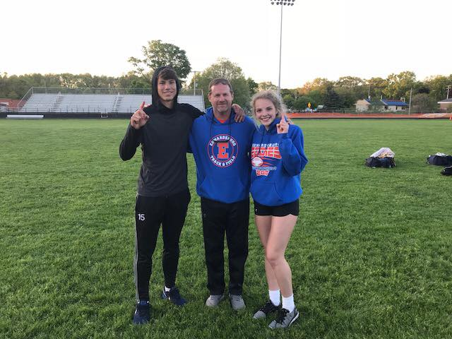 Girls finish 2nd, boys 4th at Wolverine Conference track meet