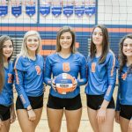 Eddies volleyball wins on Senior Night