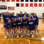 Eddies volleyball wins Wolverine Conference championship
