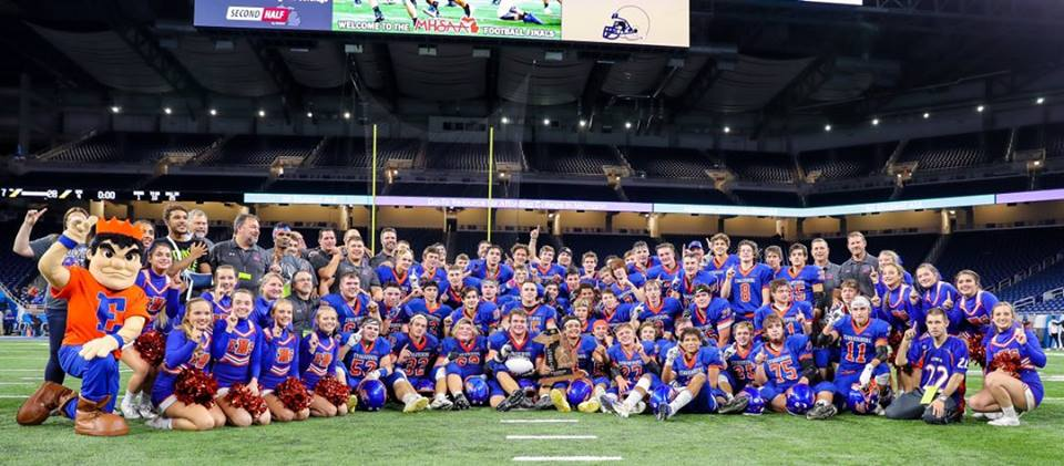 Eddies win state championship with 28-7 victory over Chelsea