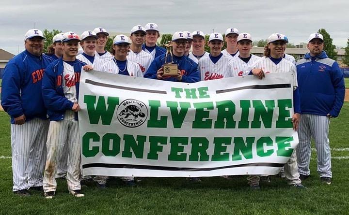Eddies baseball wins Wolverine Conference championship
