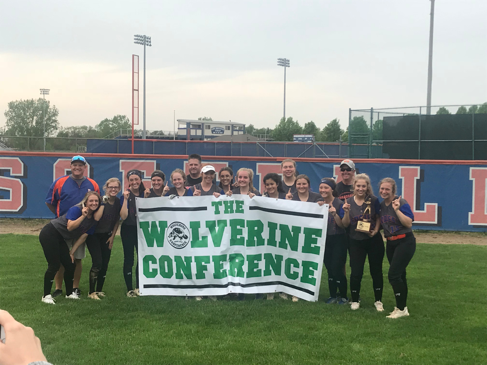 Eddies softball wins Wolverine Conference championship