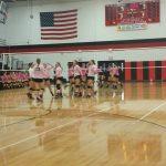 Marshall Digs Pink and Wins on Senior Night