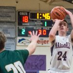 Marshall stops Pennfield in district in OT