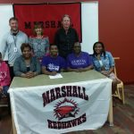 Jontaj Wallace signs with Albion College