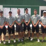 Boys Golf 2nd at Districts