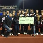 Cheer Team donates to Calhoun County Girls on the Run