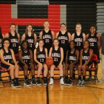 Girls' JV basketball beats Harper Creek