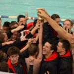 Boys' Swimming and Diving Team earns 2nd at Loy Norrix Invite