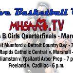Catch the Girls' Quarter-Final on MHSAA.TV
