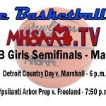 Watch the Girls' Semi-Final on MHSAA.TV
