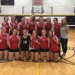 JV Volleyball wins Bronson tournament