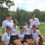 Lady Redhawk Varsity Golf places 3rd