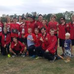 Marshall High School Boys Varsity Cross Country finishes 1st place