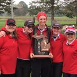 Girls Varsity Golf Brings Regional Trophy Home!
