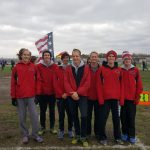 Marshall Boys Cross Country Team Runs at State Finals