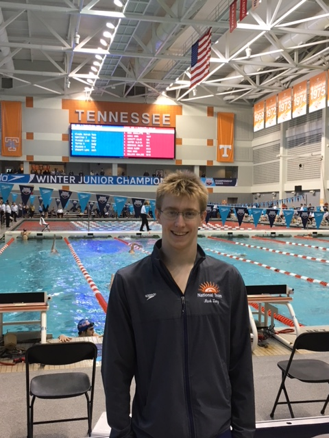 Mark Lang named the USA Swimming Scholar-Athlete