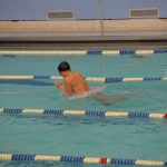 Boys Swimming and Diving team beat Sturgis