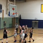 Girls 7th Grade B Basketball beats Hastings MS 43 – 16