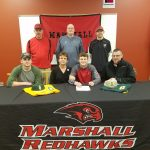 Logan Austin signs with Glen Oaks Community College