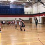 Girls 7th Grade B Basketball beats Jackson Catholic MS 32 – 17
