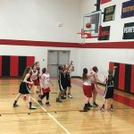 Girls 7th Grade B Basketball beats Legg MS (Coldwater) 27 – 8