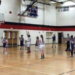 Girls 7th Grade B Basketball beats Lakeview MS 21 – 12
