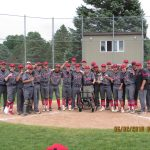 Baseball Wins District at Joe Cooper Field