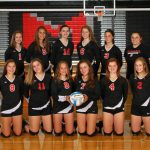 Freshman Volleyball competes at Saline