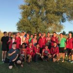 Marshall Boys Cross Country Team Brings Home Runner-Up Trophy at Eaton Rapids Invite