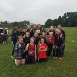 Marshall Girls Dominate County Meet for 5th Invitational Win